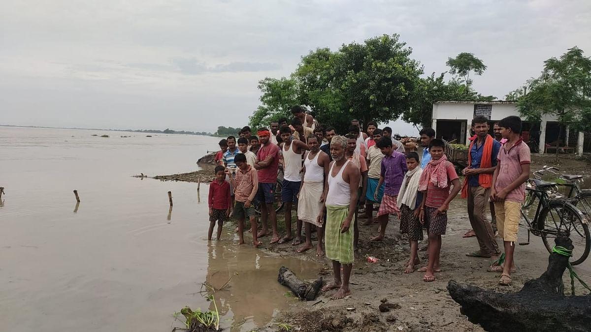 कमला बलान, बागमती, ललबेकिया, महानंदा और घाघरा नदी खतरे के निशान से ऊपर, गंगा का बढ़ रहा जलस्तर