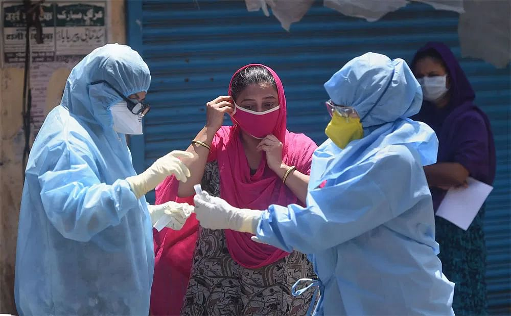 Coronavirus in Bihar, LIVE Updates: कंटेनमेंट जोन में 125 लोगों की हुई एंटीजन किट से जांच, दो पॉजिटिव मिले