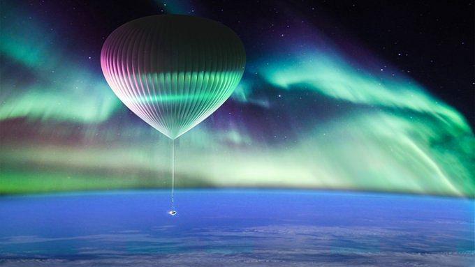 गुब्बारे के जरिए अब आसमान की कर सकेंगे सैर,  मानव यात्रियों को बाहरी अंतरिक्ष के किनारे पर भेजने की है योजना