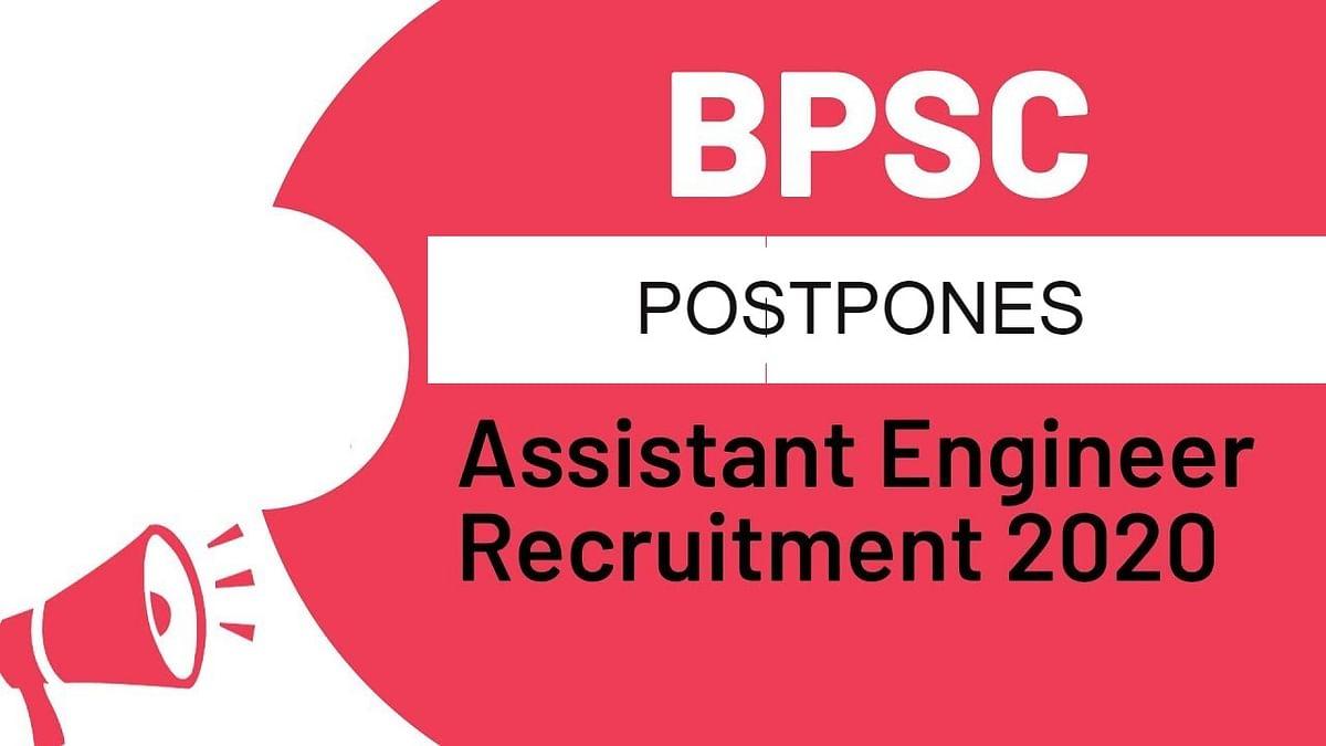 BPSC Assistant Engineer recruitment exam 2020: छात्रों को बड़ा झटका, सहायक अभियंताओं की भर्ती हुई स्थगित