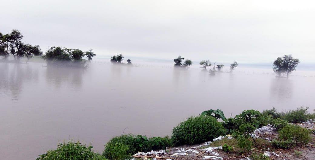 दरभंगा जिले में बाढ़ के पानी में डूबे दो दर्जन से अधिक मतदान केंद्र, प्रशासन की चिंता बढ़ी