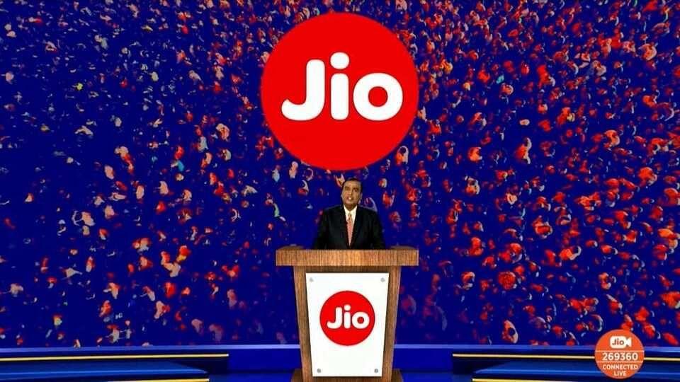RIL AGM 2020 : देश में 5G लॉन्च करने को Jio-Google ने मिलाया हाथ, भारत को बनाएंगे 2G मुक्त