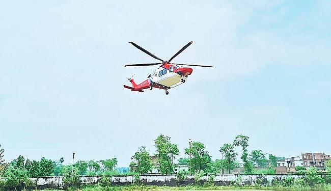 बिहार में अब हर वक्त मिलेगा हेलीकॉप्टर, चुनाव में किराया पर देने की शुरू हो गयी होड़, जानें किराया...