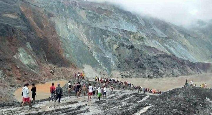 Myanmar landslide: म्यांमार में भारी बारिश से भूस्खलन, 113 मजदूरों  की मौत, कई लोगों के दबे होने की आशंका