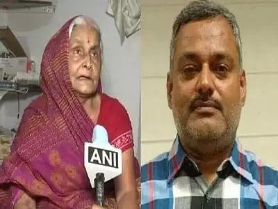 कानपुर मुठभेड़ : 'पकड़ लें और फिर उसका एनकाउंटर कर दें', हिस्ट्रीशीटर विकास दुबे की मां ने कही ये बात