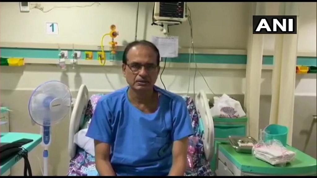 अस्पताल से शिवराज सिंह चौहान का संदेश:  मैं बिल्कुल ठीक हूं, कोरोना योद्धाओं को नमन