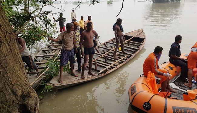 गोपालगंज में दो नाव हादसों में डूबने से छह बच्चों समेत नौ की गयी जान