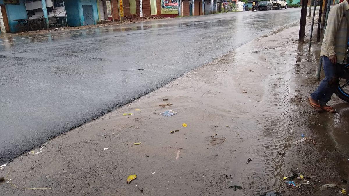 बिहार में बारिश से अटकीं सड़क परियोजनाएं
