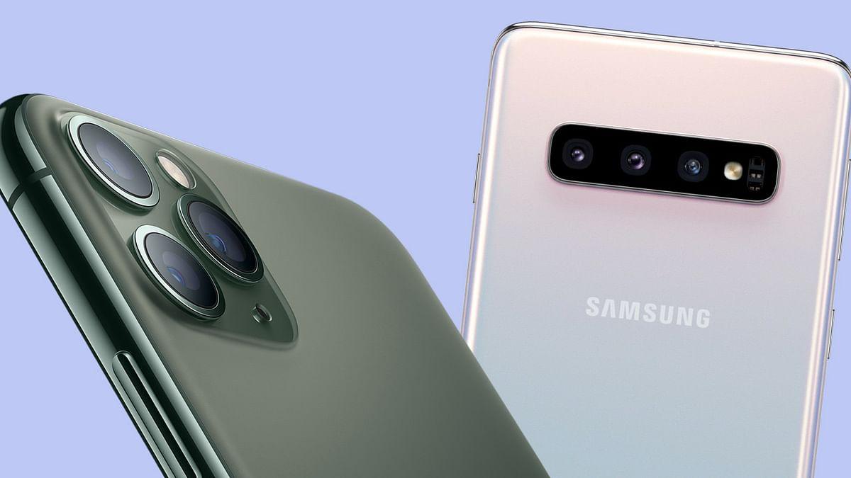 Samsung से डील Apple को पड़ी भारी, चुकाना पड़ा ₹7137 करोड़ का जुर्माना, मामला रोचक है!