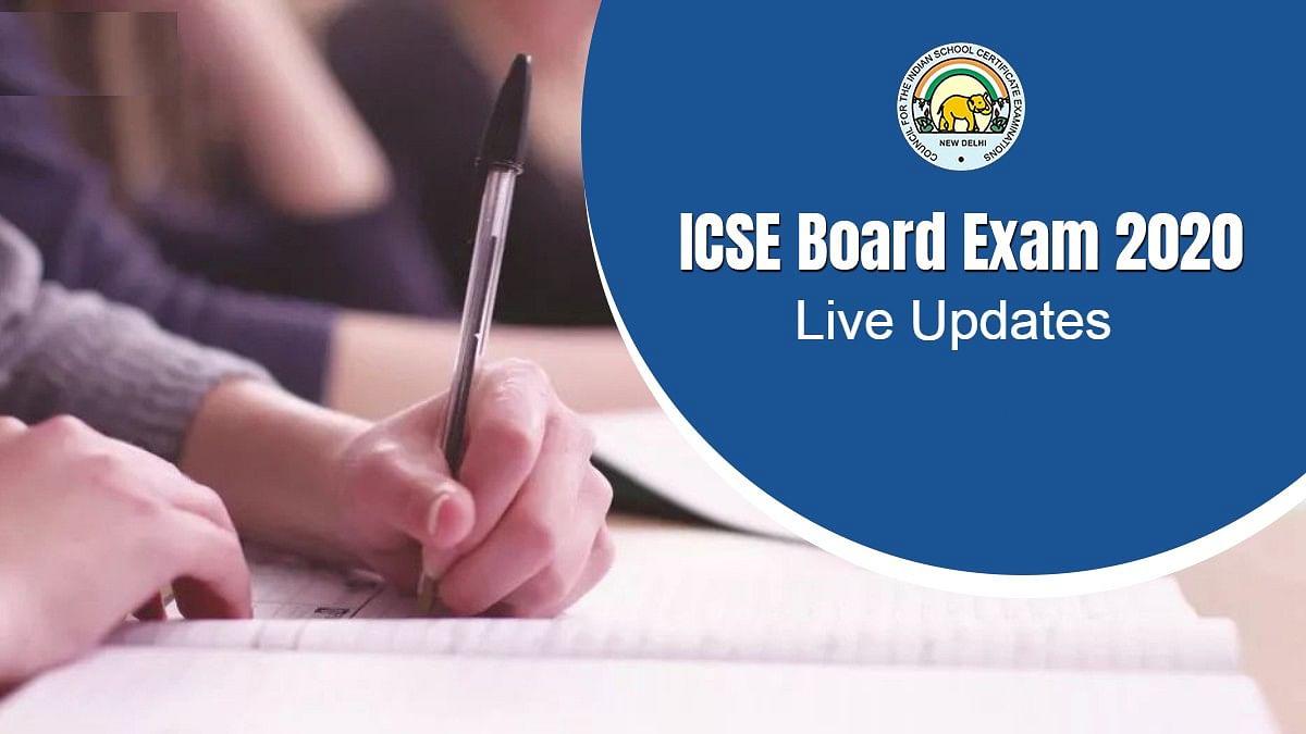 ICSE, ISC Board Results 2020 Updates : कल जारी होगा आईसीएससी की दसवीं और बारहवीं का परिणाम, यहां जाने पूरी डिटेल