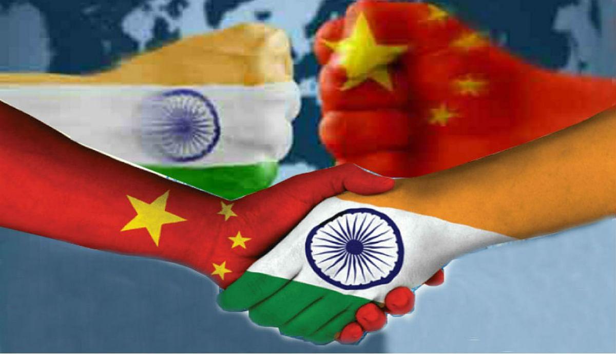 सोशल मीडिया में भारत-चीन रिश्ते