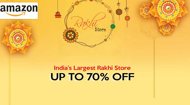 RakshaBandhan 2020: राखी पर घर लायें खुशियां, Amazon Rakhi Store पर सबके लिए कुछ न कुछ