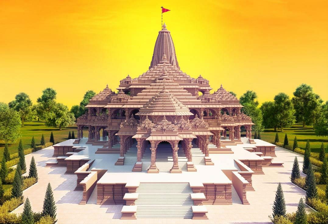 Ram Mandir Bhumi Pujan: ऐसा होगा अयोध्या में श्रीराम का भव्य मंदिर, सामने आईं तस्वीरें, आप भी देखें...