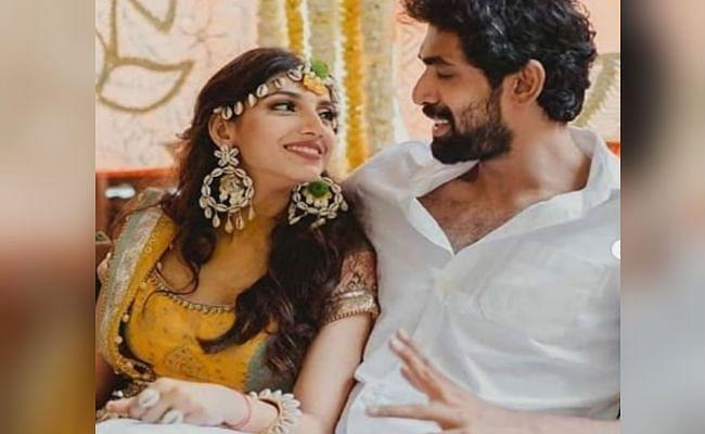राणा दग्गुबाती और मिहिका बजाज की शादी की रस्में शुरू, हल्दी सेरेमनी की तसवीरें आई सामने