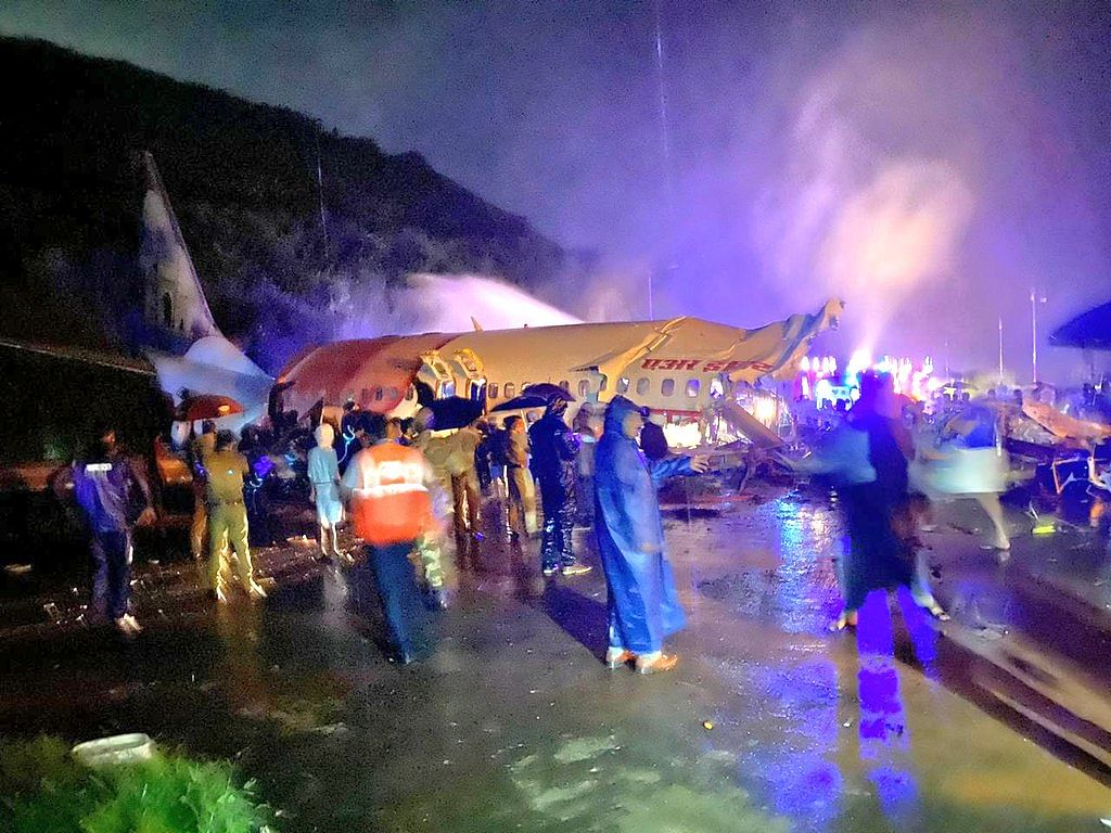 दुबई में रहने वाले भारतीय प्रवासी के परिवार के सात सदस्य विमान दुर्घटना में बाल-बाल बचे