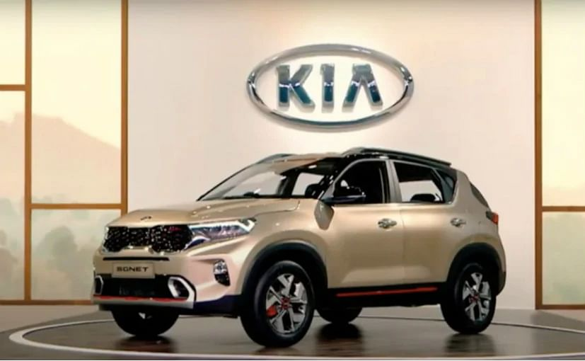 Kia Sonet लॉन्च से पहले भारत में पेश, 57 कनेक्टेड फीचर्स से लैस होगी SUV