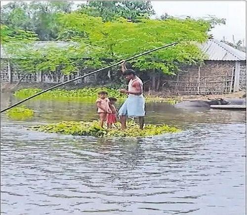 Bihar Flood 2020 : बरंडी व कोसी नदी के जलस्तर में ऊफान जारी, महानंदा, कारी कोसी व गंगा के उतार-चढ़ाव ने बढ़ाई ग्रामीणों की परेशानी