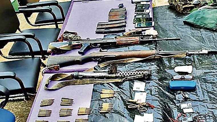 झारखंड के नक्सलियों तक पहुंच चुके हैं अत्याधुनिक विदेशी हथियार और 50 हजार से अधिक गोलियां
