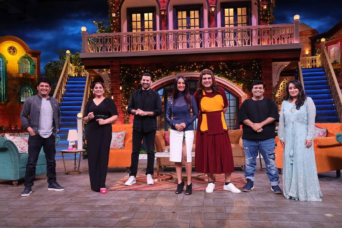 The Kapil Sharma Show: कपिल शर्मा के शो में पहुंचे कृष्णा की वाइफ और अर्चना पूरन सिंह के पति, देखें PHOTOS