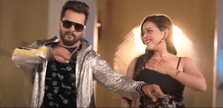 Khesari Lal New Bhojpuri Song : खेसारी का नया गाना Red Lipstick मचा रहा धूम, देखें जबरदस्त VIDEO