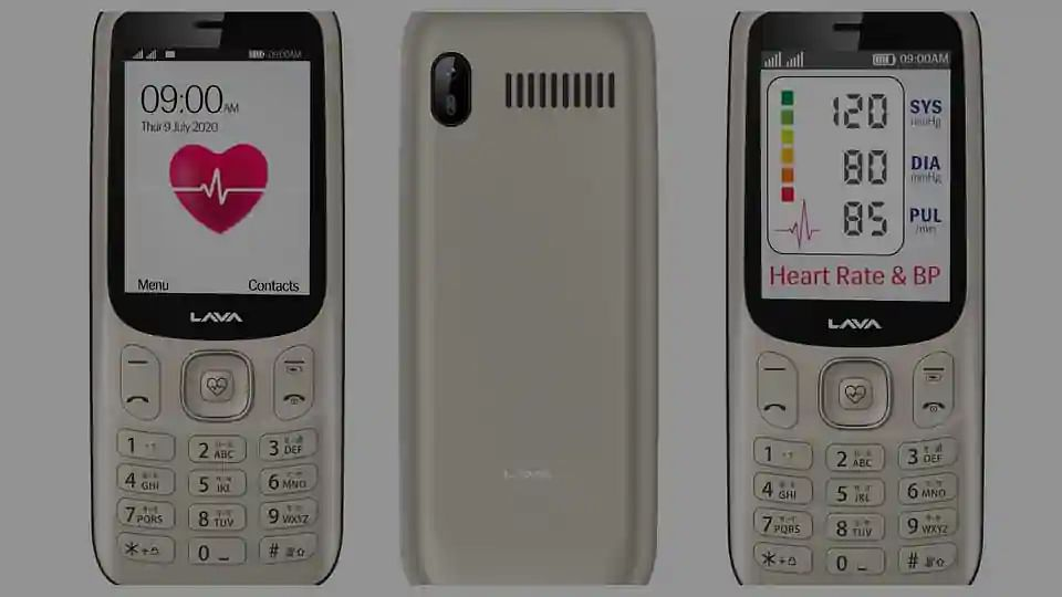 Lava ने लॉन्च किया Pulse मापने वाला दुनिया का पहला Feature Phone, जानें...