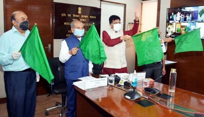 भारत की पहली 'किसान रेल' सेवा आज से शुरू, केंद्रीय मंत्री ने हरी झंडी दिखा ट्रेन को किया रवाना, शनिवार की शाम दानापुर पहुंचेगी