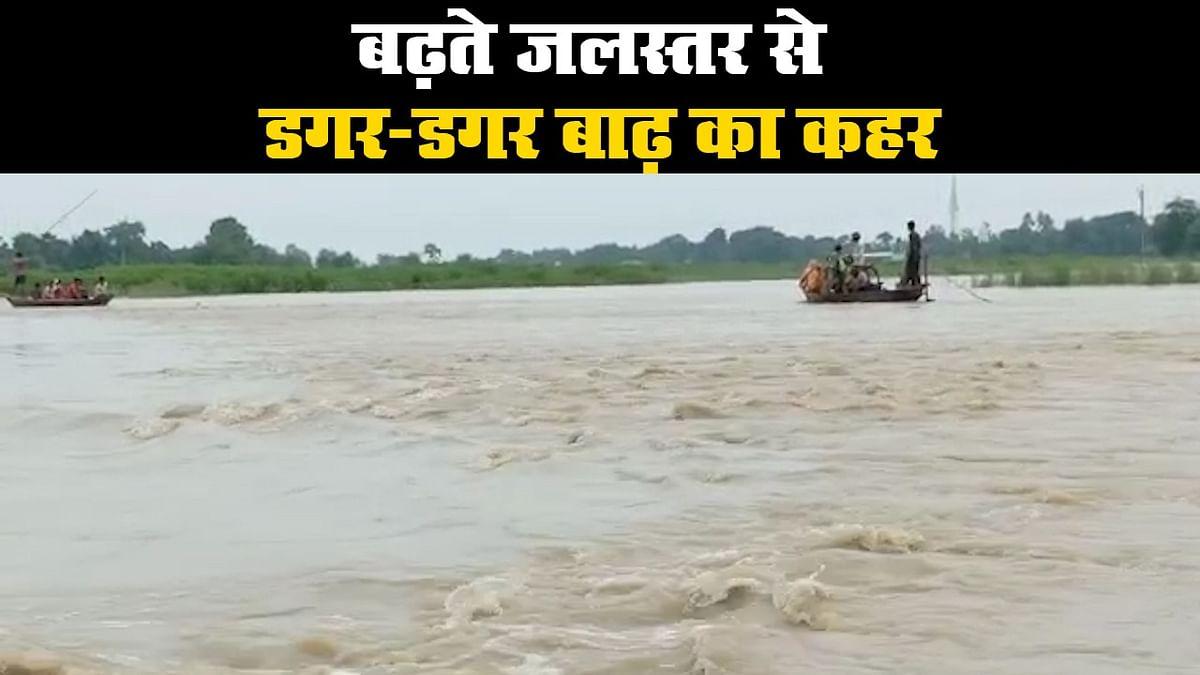 बिहार बाढ़: राज्य के 16 जिलों की 70 लाख से ज्यादा की आबादी पर बाढ़ का असर