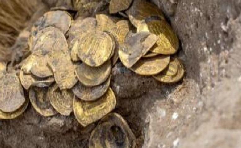 इस्लामी काल के सोने के सिक्कों का खजाना मिला