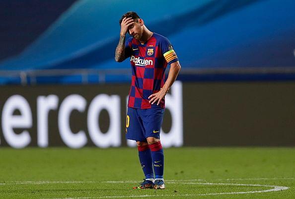 Lionel Messi: लियोनल मेस्सी सबसे बड़ी हार के बाद बार्सिलोना छोड़ने को तैयार, हो सकता है एक युग का अंत