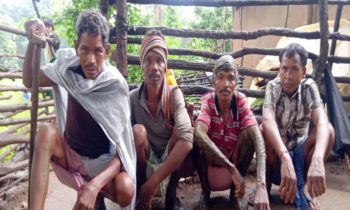 पालकोट में वज्रपात से एक किसान की मौत, 5 घायल
