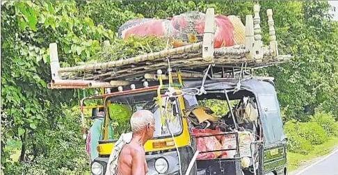 Flood in Bihar : बांध टूटने का ऐसा खौफ कि चार रातों से यहां कोई नहीं सोया