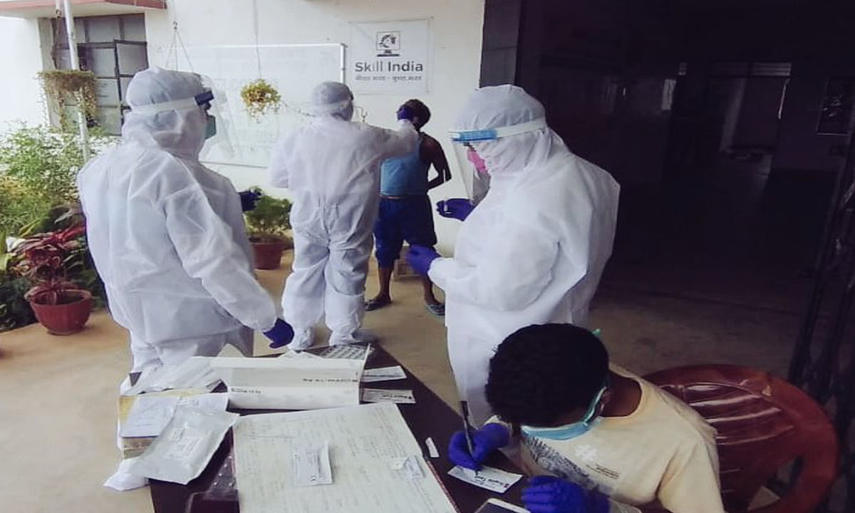 झारखंड में कोरोना 978 नये मामले, 584 लोग हुए ठीक, 7 की हुई मौत