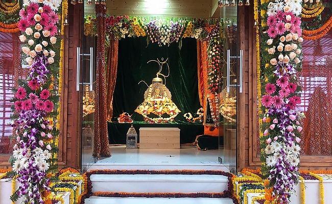 Ram Mandir Bhumi Pujan : अयोध्या में राम मंदिर भूमि पूजन को लेकर मथुरा में रहा हाई अलर्ट, ब्रज में जश्न का माहौल