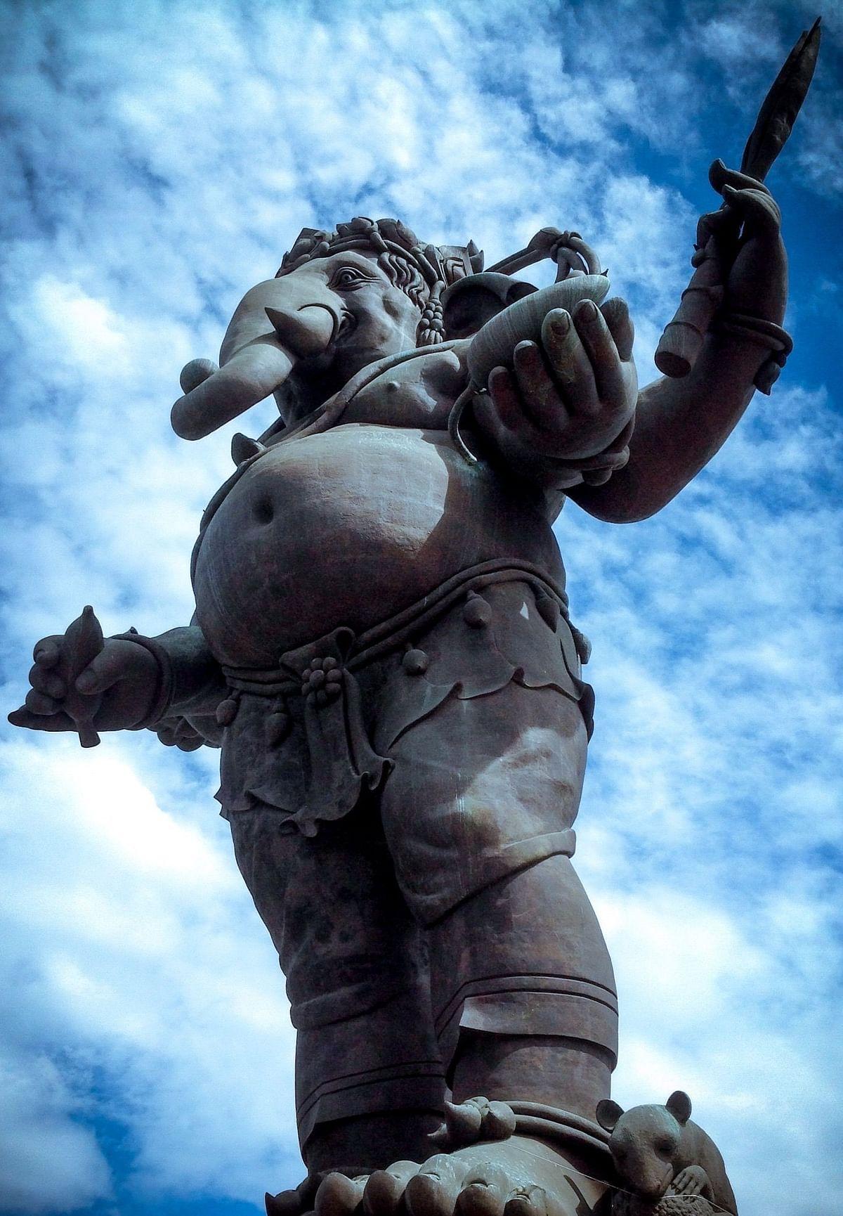 ख्लॉन्ग ख्वेन गणेश इंटरनेशनल पार्क में स्थापित प्रतिमा (फाइल फोटो)
