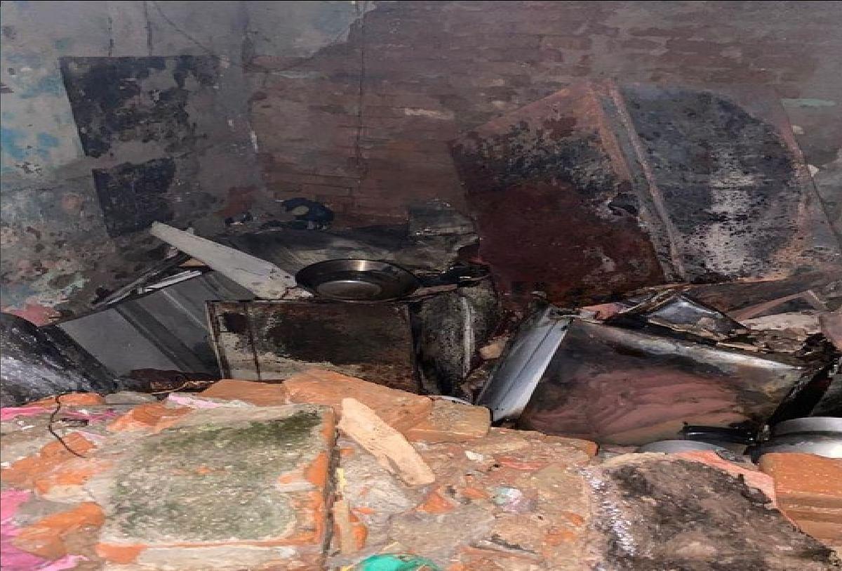 दिल्ली के तिगड़ी जेजे कैंप में एलपीजी सिलेंडर विस्फोट, 5 लोग घायल