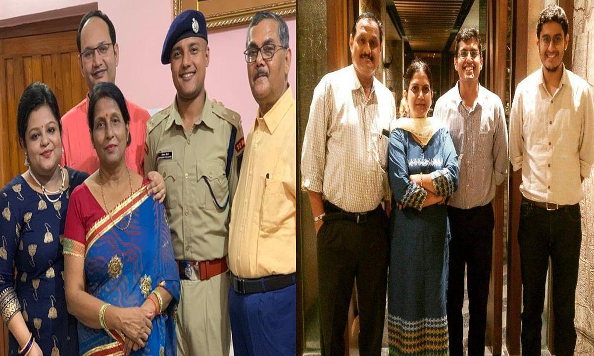 Jharkhnd news : हजारीबाग के दीपांकर चौधरी को मिला 42वां रैंक (बायें) और प्रियांक किशोर को मिला 61वां रैंक (दायें).