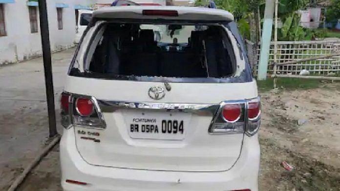 मोतिहारी में पूर्व विधायक पर जानलेवा हमला, गाड़ी क्षतिग्रस्त, जानें क्या था मामला