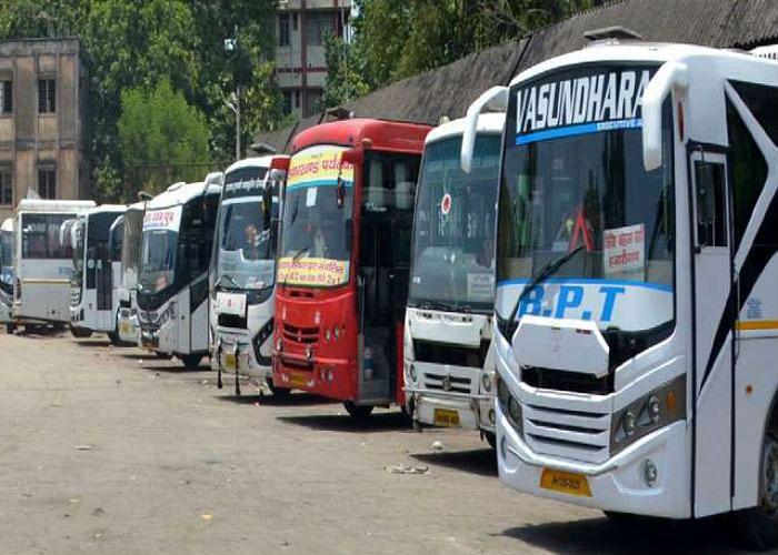 राज्य में 24 मार्च से नहीं हो रहा है बसों का परिचालन, संचालकों ने कहा- बसें चल नहीं रहीं, कहां से देंगे रोड टैक्स
