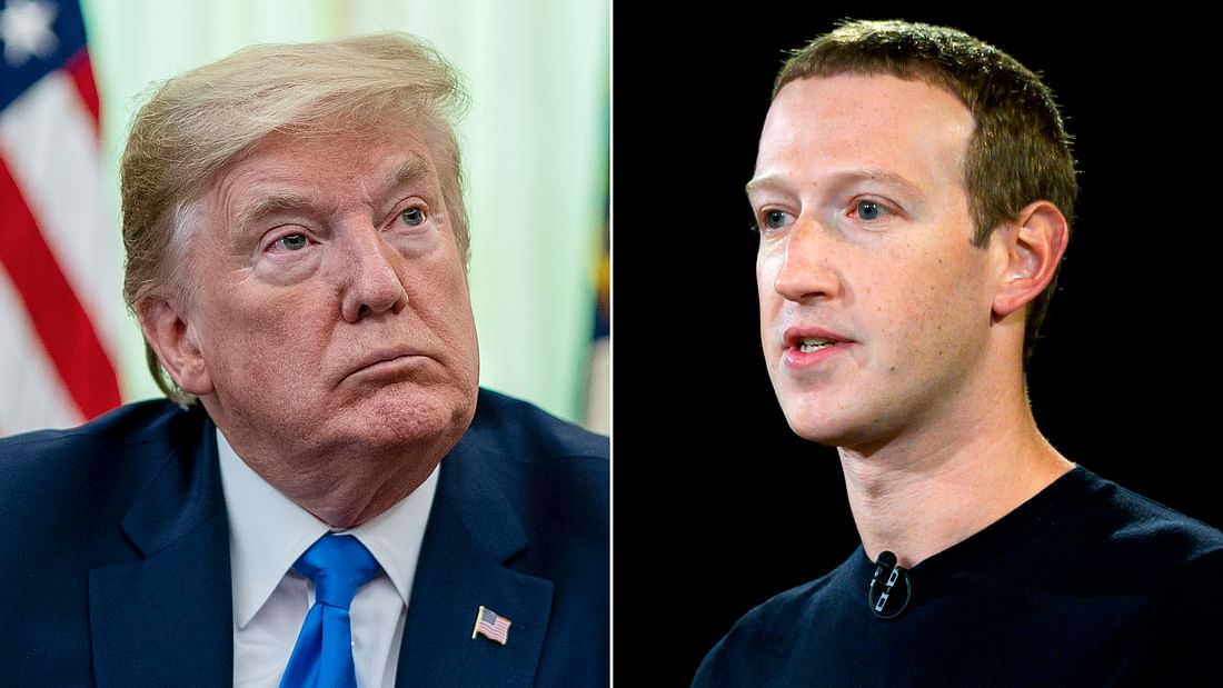 फेसबुक ने बदला तेवर, कहा- डोनाल्ड ट्रंप ने फेक न्यूज या हेट स्पीच पोस्ट किया तो डिलीट कर देंगे