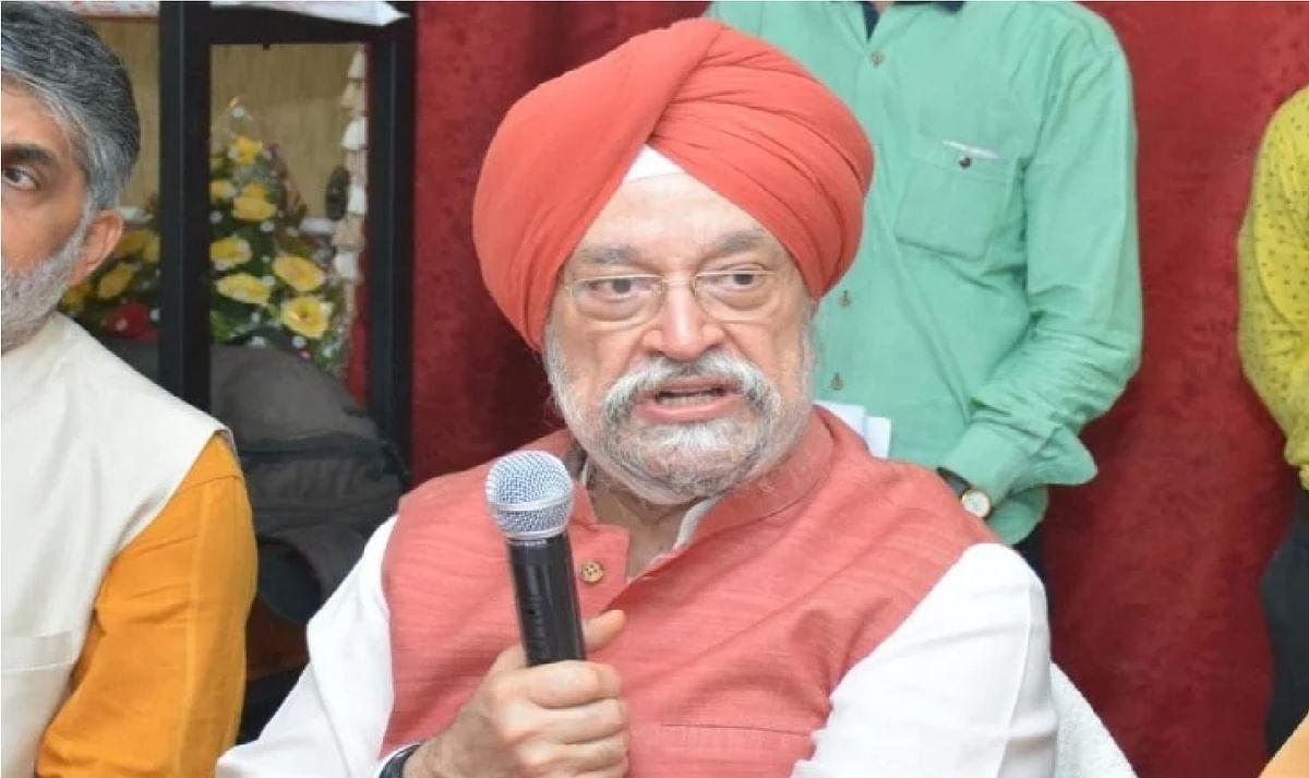 भाजपा नेता हरदीप पुरी ने कहा, मौत का चैंबर है कांग्रेस