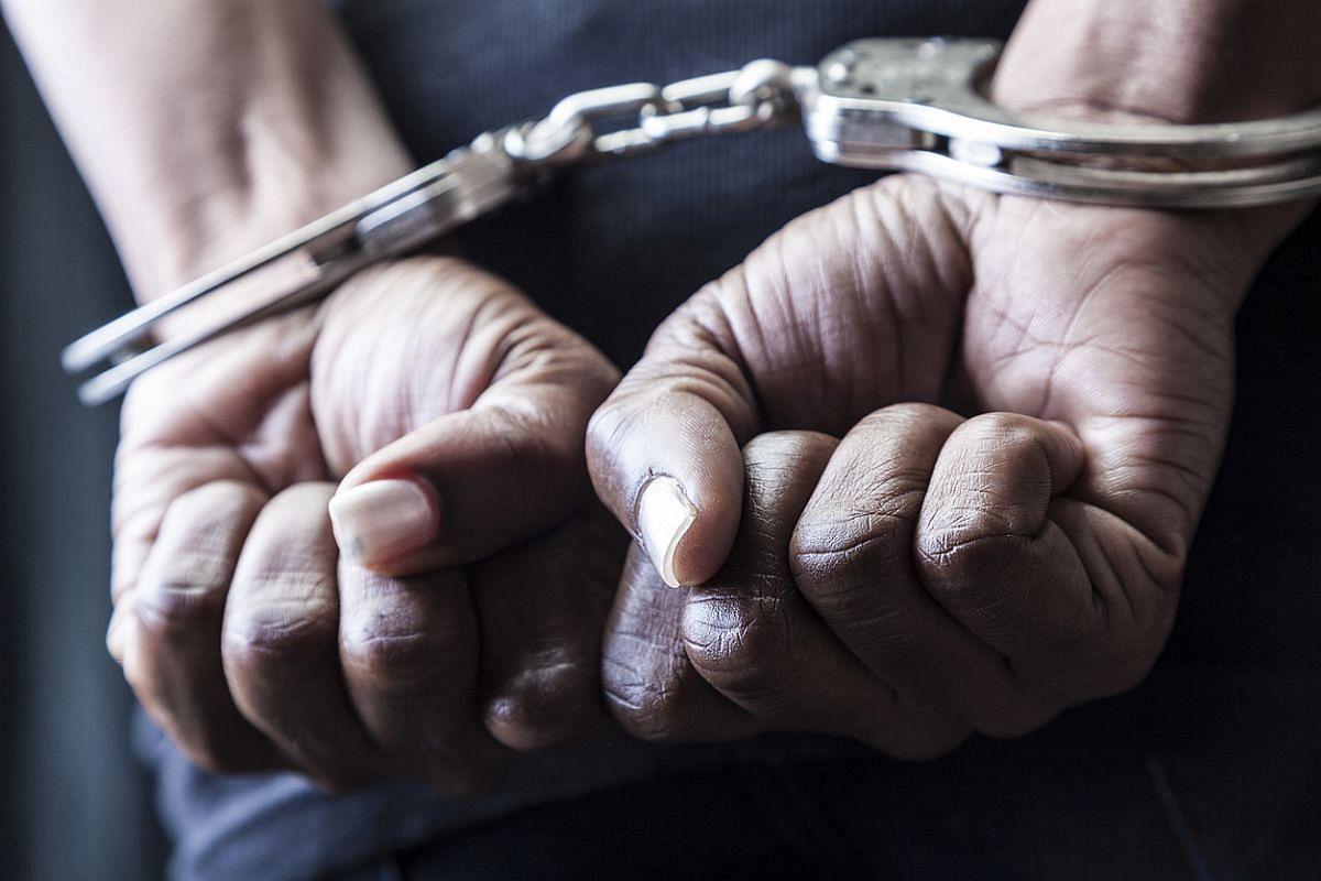 आरपीएफ पुलिस ने दो लोगों को गिरफ्तार किया
