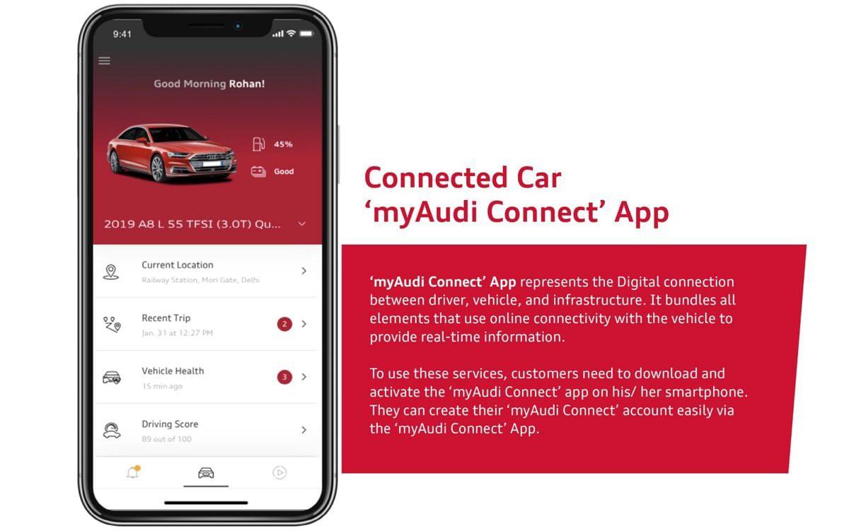 Audi ने MyAudi Connect ऐप का नया एडिशन पेश किया, जानें क्या हैं फीचर्स