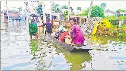 Bihar Flood Updates : बिहार में बाढ़ से 16 जिलों के 74.19 लाख लोग प्रभावित