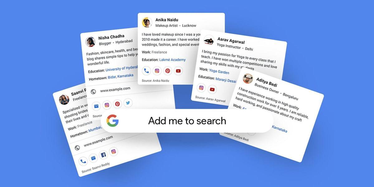 Add me to Search: Google पर मुफ्त में ऐसे बनाएं वर्चुअल विजिटिंग कार्ड, जानें क्या होगा फायदा