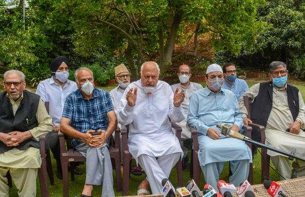 Jammu kashmir: 370 पर पुरानी रंजिश भुला कांग्रेस सहित 6 दल हुए 1, कहा-  विशेष दर्जे की फिर से बहाली के लिए करेंगे संघर्ष