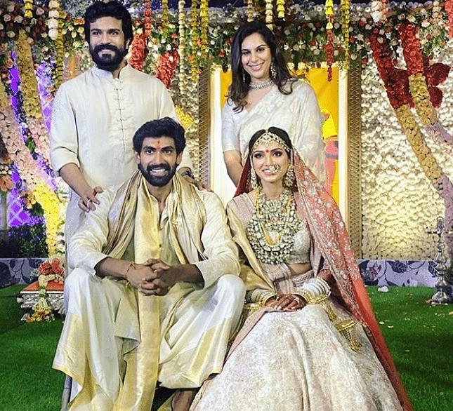रामचरण ने शेयर की शादी की तसवीरें