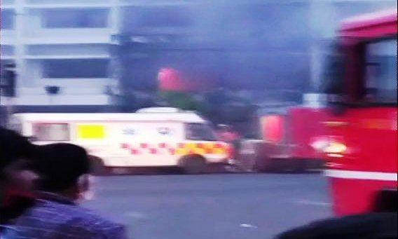 Vijayawada covid center:  विजयवाड़ा के कोविड-19 सेंटर में भीषण आग, अब तक 9 लोगों की मौत