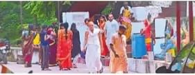 Gaya Pitru Paksha: प्रेतशिला वेदी पर पिंडदान कर रहे तीर्थयात्रियों को प्रशासन ने हटाया