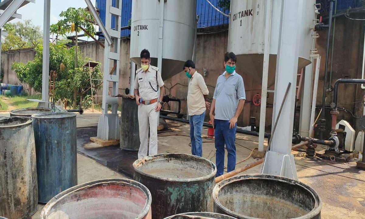 तिलैया के केमिकल फैक्ट्री हादसे में झुलसे 4 लोग रिम्स रेफर, वेल्डिंग के दौरान सिलेंडर फटने की आशंका