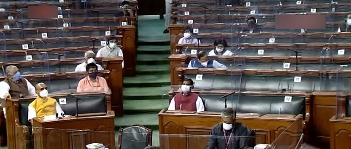 Parliament LIVE : विपक्ष के विरोध हंगामे के बीच राज्यसभा में कृषि बिल पास